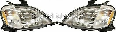 TIFFIN PHAETON 2002 2003 PAIR SET FRONT HEAD LIGHTS LAMPS HEADLIGHTS RV