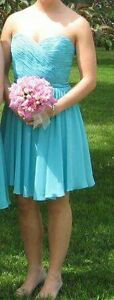 Turquoise Mari Lee Bridesmaid Dress from House of Brides