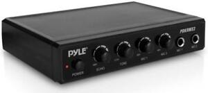 KEEP IT SIMPLE - NEW PYLE PDKRMX2 MINI MIXER - IDEAL FOR KARAOKE APPLICATIONS !!
