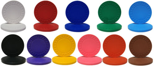 NEW 400 PC Super Diamond 8.5 Gram Poker Chips Bulk Lot Pick Your Colors