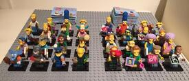 Brand new Lego Simpsons Minifigures Series 1 & 2 sets. One of each series per order.