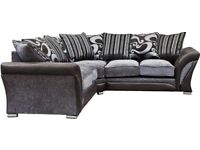 **Amazing Offer** Brand New Shannon Corner Or 3 + 2 Sofa, Universal corner Sofa ORDER NOW