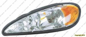 Head Light Driver Side PONTIAC GRAND AM 1995-2005