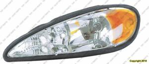 Head Light Driver Side PONTIAC GRAND AM 1995-2005