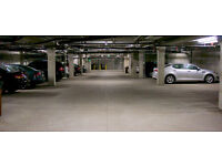 Underground parking space available at E1 4RX