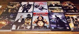 10x Action / Men's DVD bundle, some still brand new and sealed WILL ACCEPT OFFERS