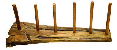 Didgeridoo Display 6er wood