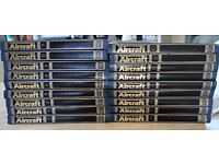 THE ILLUSTRATED ENCYCLOPEDIA OF AIRCRAFT COMPLETE 18 BINDERS EXCELLENT/C ORBIS