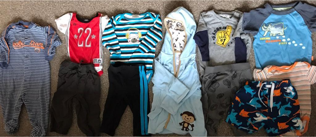 Boy clothes (size 6 to 9 monthsin Peterculter, AberdeenGumtree - Bundle of boy clothes size 6/9 months. From a smoke free and pet free home. Please text if interested