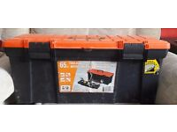 "Heavy duty 25.5"" tool box...only £10"