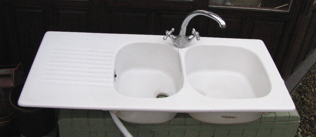 Villeroy & Bosch? or Franke? Ceramic Double Bowl kitchen sink with ...