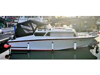 23 ft cleopatra cabin cruiser. Boat for sale