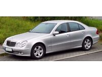 BREAKING MERCEDES W211 E CLASS - PARTS AVAILABLE FROM 2002-2006