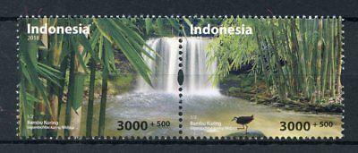 Indonesia 2018 MNH Environmental Day Bambu Kuring 2v Set Waterfall Nature Stamps ()