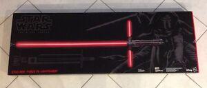 NEW Star Wars The Force Awakens Kylo Ren Black Series Lightsaber Stirling Stirling Area Preview