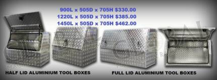 Ute tool boxes,large range best prices, steel and aluminium Osborne Park Stirling Area Preview