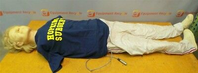 Laerdal Anne Full Torso Body Recording Manikin Resusci Dummy Cpr Training Emt