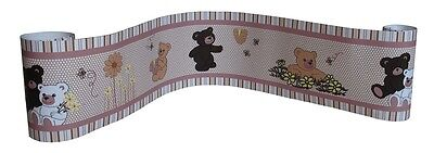 (Wall Border For Bear and Bee Baby Bedding Set By Sisi)