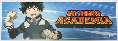Spirit Halloween Store Exclusive Prop Sign / Display ~ My Hero Academia Anime