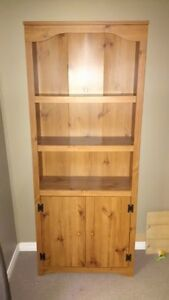 Bookcase with 2-doors