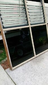 WINDOW FRAME WITH LOUVRES Pacific Paradise Maroochydore Area Preview