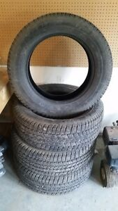 4 Winter Tires For Sale -- Wrangler SR-A LT265/60R20