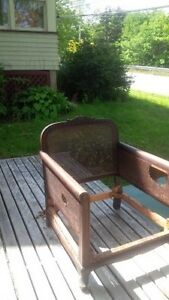 100 years old couch and chair