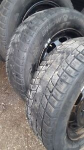 Ford focus 4 108 rims  with snow tires