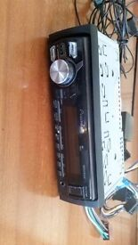 pioneer car stereo mvh-x370 (with BMW conversion lume)