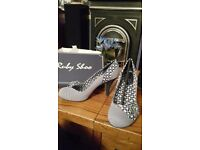 Ruby Shoo - Maisie Blue - New Size 7