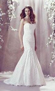 Mikaella lace wedding dress