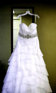 Wedding dress-Alfred Angelo size 18