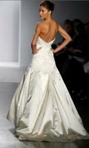 Stunning Priscilla of Boston designer wedding dress