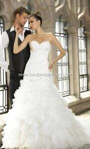 Val couture wedding dress. Size 10