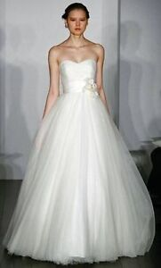 Stunning Tulle Christos Wedding Dress - Perfect Condition