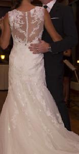 Robe mariée Création Vézina-wedding Dress-Pronovias 2015-