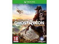 Xbox one - ghost recon wildlands