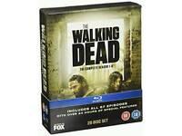 The Walking Dead 1-5 bluray