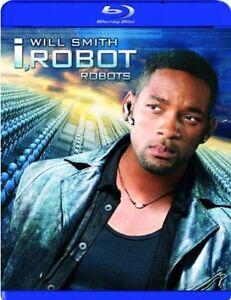 I Robot-Blu-Ray-Will Smith-Excellent condition + bonus dvd