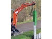 Sheet piling and groundwork's