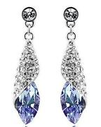 18K Swarovski Earrings