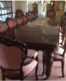 Dining room table, chairs, sideboard & corner cupboard Moorook Loxton Waikerie Preview