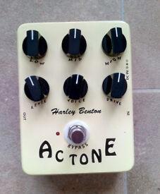 Harley Benton Guitar pedal - AC TrueTone - Get that VOX AC sound and more...
