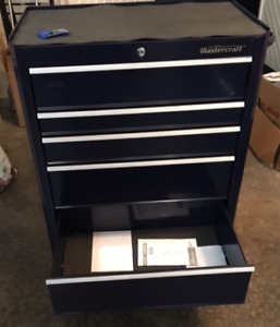 Mastercraft 5 drawer cabinet 26-in