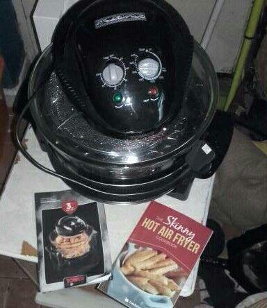 Tower low fat fryer