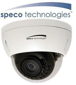 NEW SPECO 3MP INDOOR/OUTDOOR CAMERA Network Dome Camera with Night Vision VANDAL PROOF 103604780