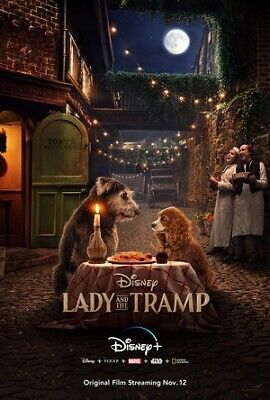 LADY AND THE TRAMP DVD (2019) BRAND NEW FACTORY SEALED