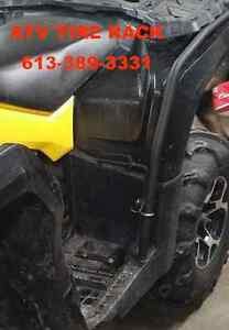 ATV Fender Guard Foot Rest Can-Am OUTLANDER - FREE SHIPPING