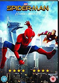 Spiderman homecoming/Emoji movie/Captain underpants dvds