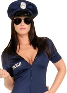 Ladies/teen sexy cop costume sz small $20 (stretchy)
